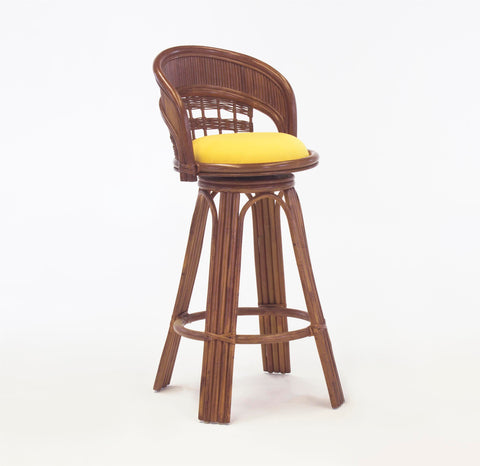"South Sea Rattan Bermuda 24"" Barstool"