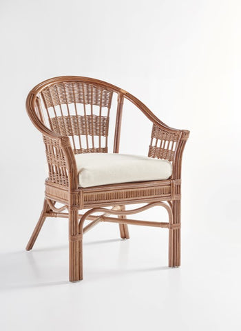 South Sea Rattan Bermuda Captain Chair