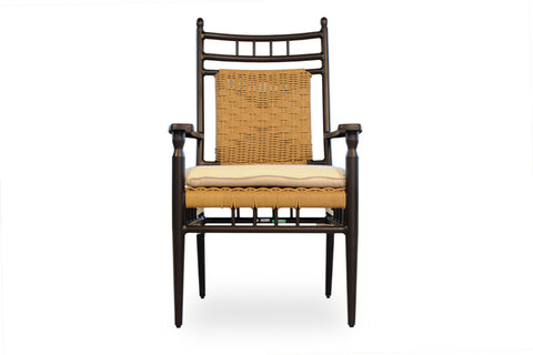 Lloyd Flanders Low County Dining Armchair