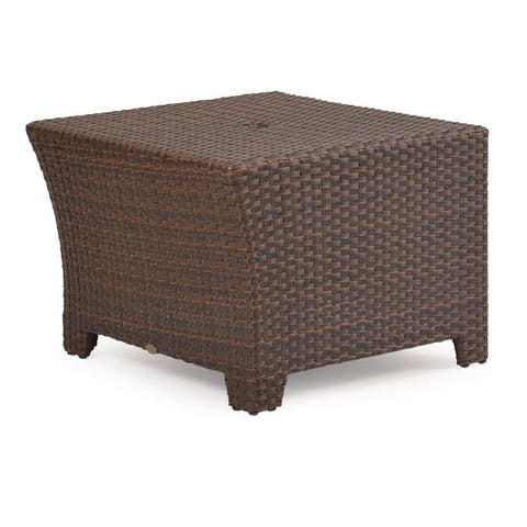 Watermark Living Watermark Living Northport Outdoor Wedge Table Oyster Grey 6321 Table - Rattan Imports