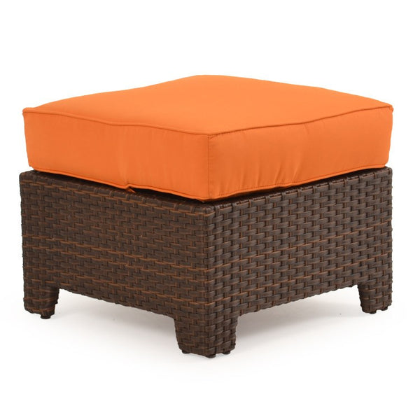 Palm Springs Rattan   Outdoor Storage Ottoman Oyster Grey 6308   Tortise  Shell     1