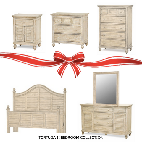 Rattan Imports Tortuga II 5 pc Queen Bedroom Collection by Sea Winds Trading  - Rattan Imports