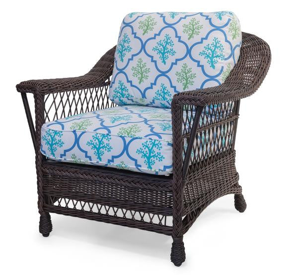 Designer Wicker & Rattan By Tribor Designer Wicker by Tribor Bar Harbor Arm Chair Chair - Rattan Imports