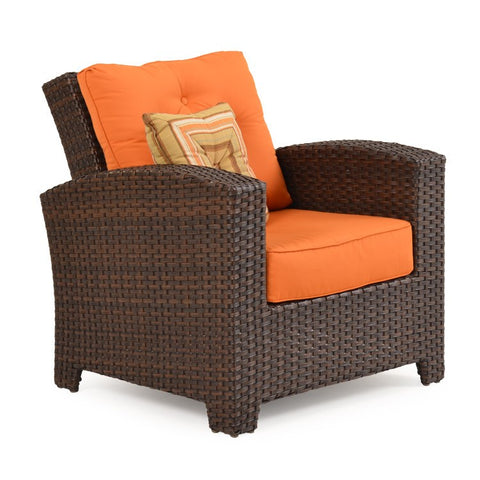 Watermark Living Watermark Living Northport Outdoor Swivel Glider Tortoise Shell 6391 Chair - Rattan Imports