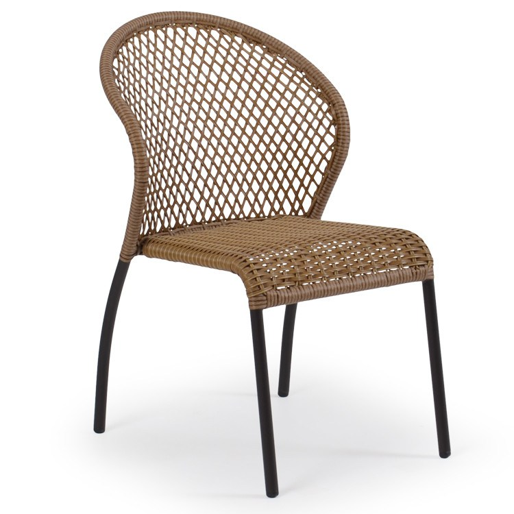 Watermark Living Watermark Living Cape Town Outdoor Bistro Dining Chair 3211 Bamboo Chair - Rattan Imports