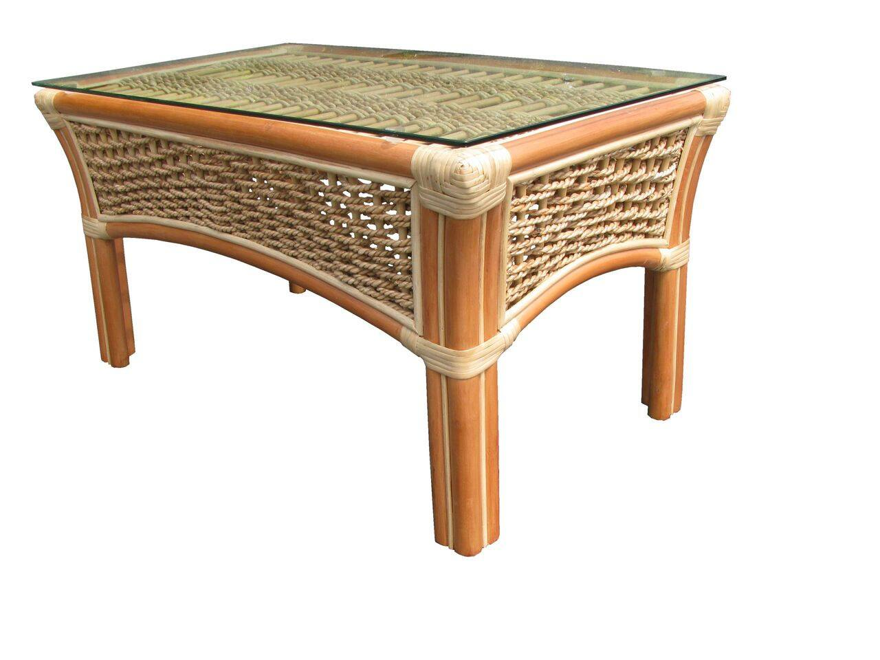 Spice Islands Islander Coffee Table Natural - Rattan Imports