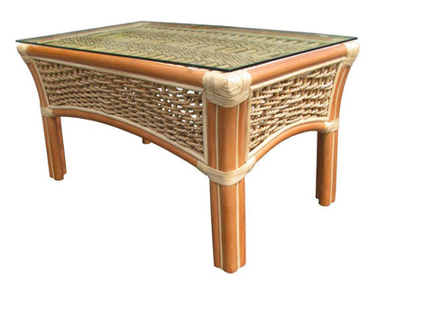 Spice Islands Spice Islands Islander Coffee Table Natural Coffee Table - Rattan Imports