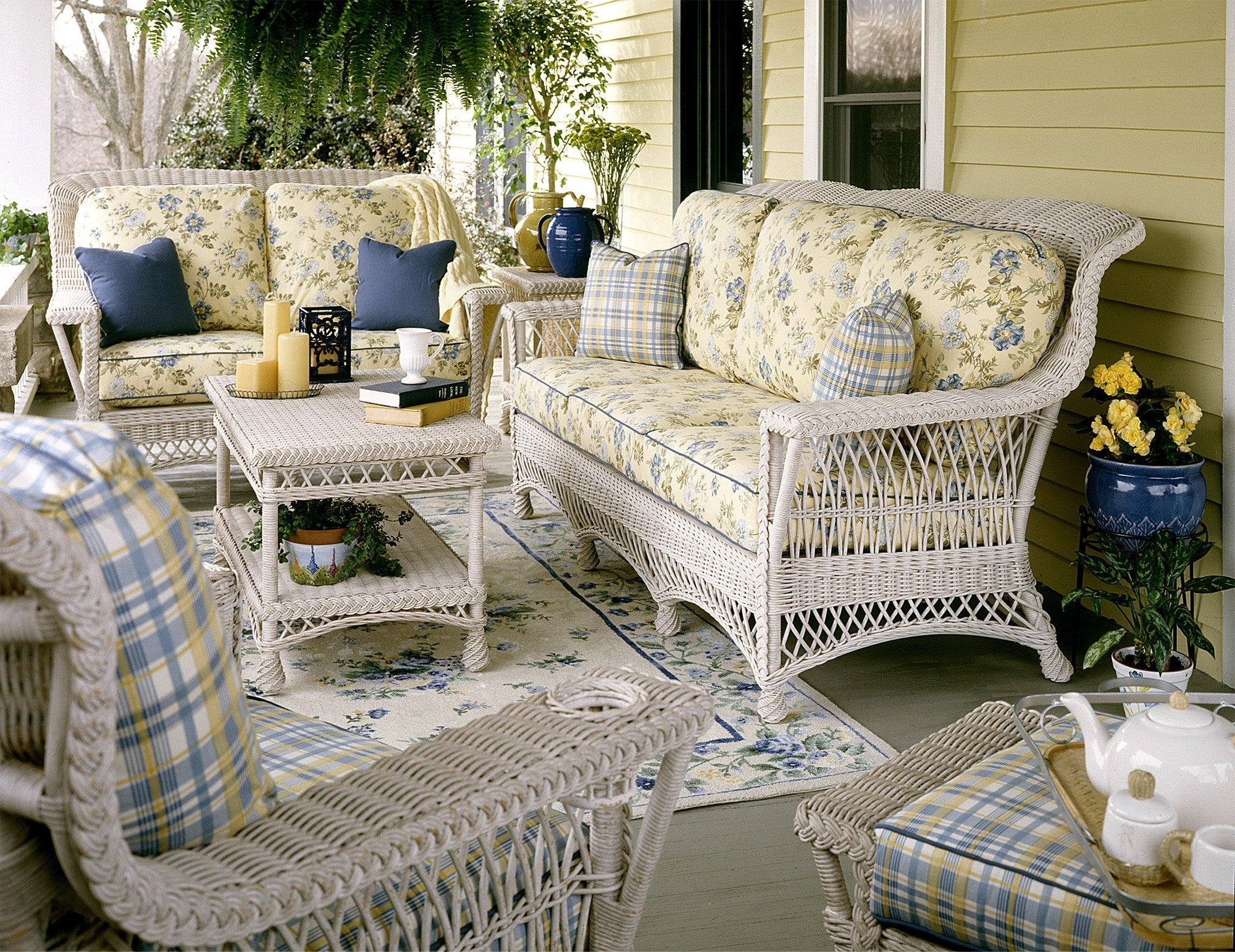 Designer Wicker & Rattan By Tribor Rockport Sofa by Designer Wicker from Tribor Sofa - Rattan Imports