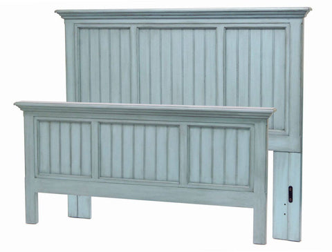 Sea Winds Trading - Monaco Queen Bed -  -