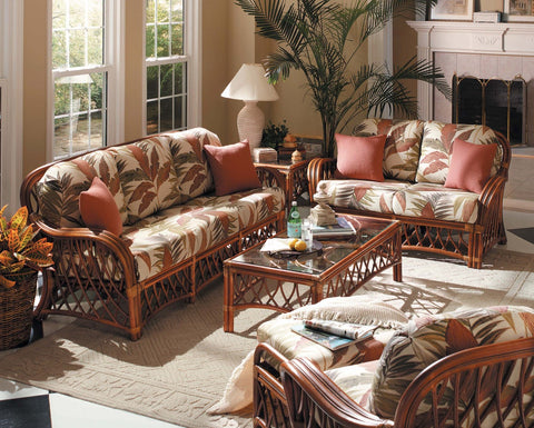 South Sea Rattan Antigua 6 piece Seating Set