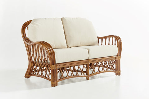 South Sea Rattan Antigua Loveseat