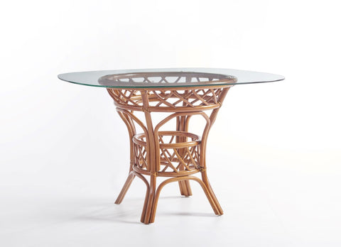 "South Sea Rattan Antigua 42"" Dining Table"