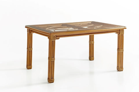 South Sea Rattan Antigua Rectangular Dinning Table