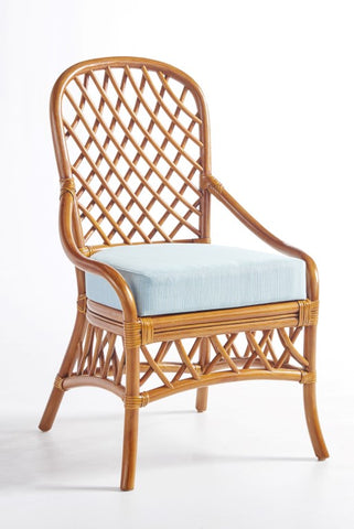 South Sea Rattan Antigua Dining Side Chair