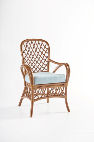 South Sea Rattan Antigua Dining Arm Chair