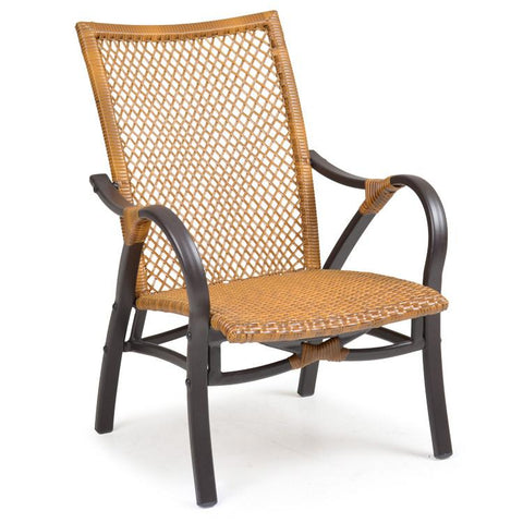 Palm Springs Rattan Outdoor Wicker Club Chair 3201-Palm Springs Rattan-Rattan Imports