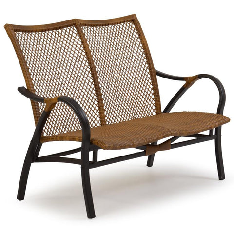Palm Springs Rattan Outdoor Loveseat 3202-Palm Springs Rattan-Rattan Imports
