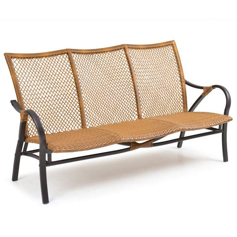 Palm Springs Rattan Outdoor Wicker Sofa 3203-Palm Springs Rattan-Rattan Imports