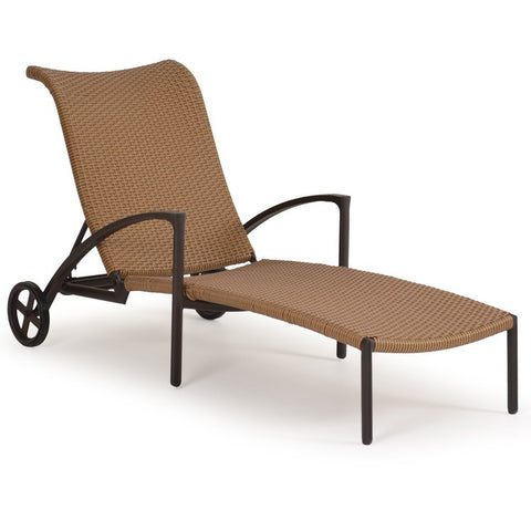 Watermark Living Watermark Living Cape Town Outdoor Wicker Chaise Lounge Coconut 3209 Lounge Chair - Rattan Imports