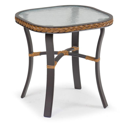 Watermark Living Outdoor Wicker End Table 3220-Watermark Living-Rattan Imports