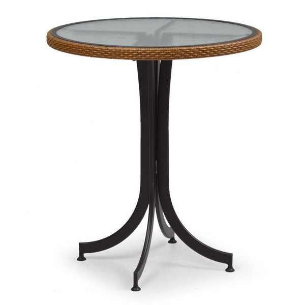 "Watermark Living Counter Height 30"" Round Table 3298 Bamboo-Watermark Living-Rattan Imports"