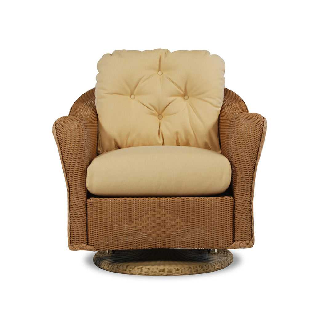 Lloyd Flanders Lloyd Flanders Reflections Swivel Glider Lounge Chair Swivel Glider Chair - Rattan Imports