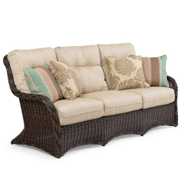 Watermark Living Riverside Outdoor Wicker Sofa 4303 ... on Outdoor Living Wicker id=22179