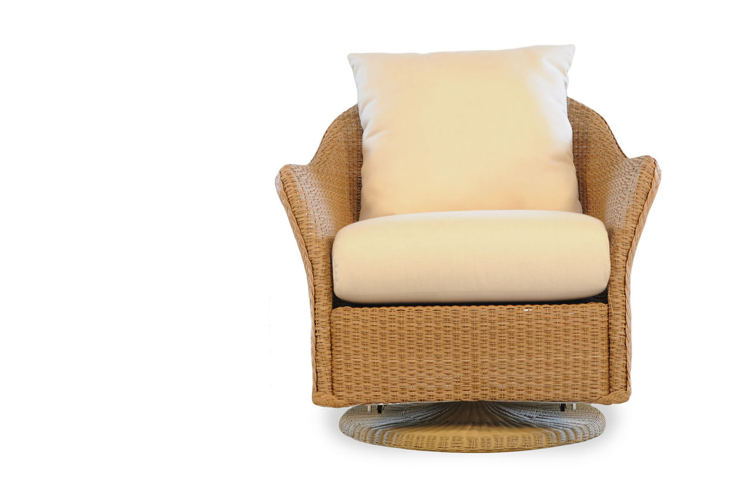 Lloyd Flanders Lloyd Flanders Weekend Retreat Swivel Glider Lounge Chair Swivel Glider Chair - Rattan Imports