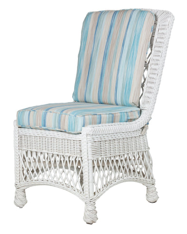 Designer Wicker & Rattan By Tribor Rockport Dining Side Chair by Designer Wicker from Tribor Dining Chair - Rattan Imports
