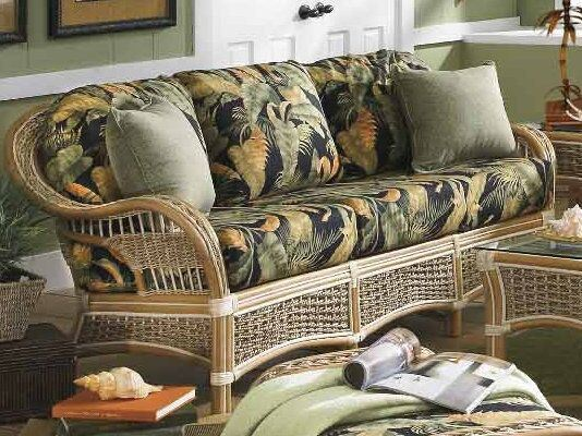 Spice Islands Islander Sofa Natural - Rattan Imports
