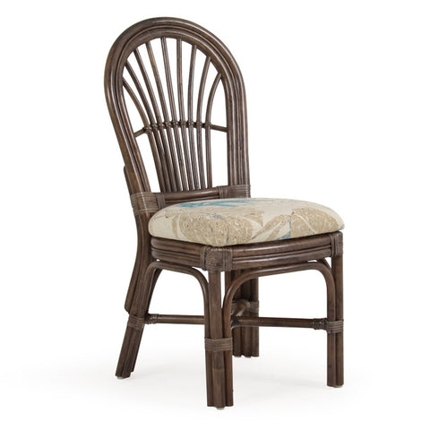 Watermark Living Watermark Living Brighton Rattan Dining Side Chair 5511 Chair - Rattan Imports