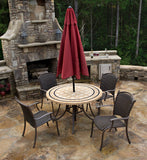 Tortuga Outdoor - Marquesas 5Pc Dining Set -  -  - 9