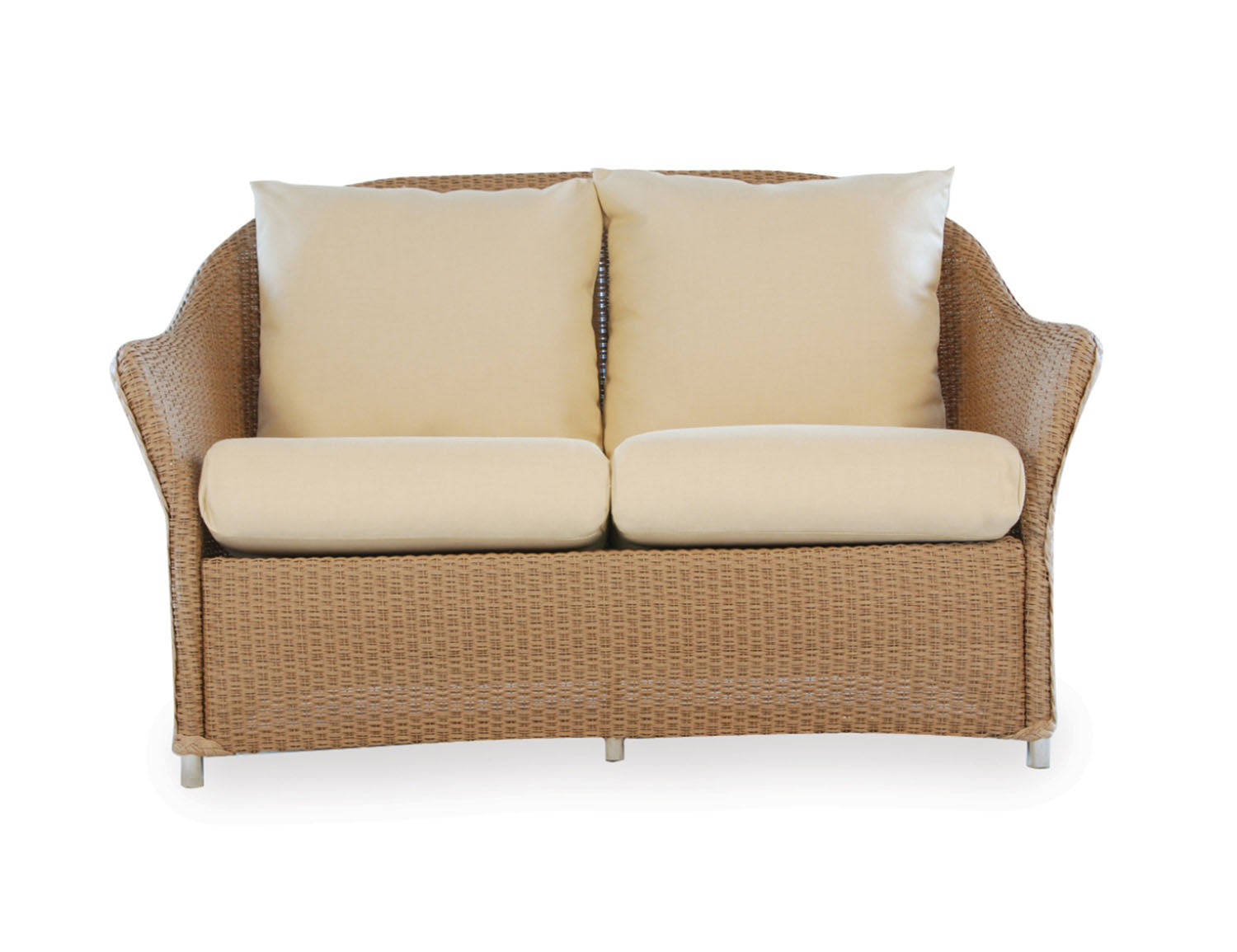Lloyd Flanders Lloyd Flanders Weekend Retreat Loveseat Love Seat - Rattan Imports