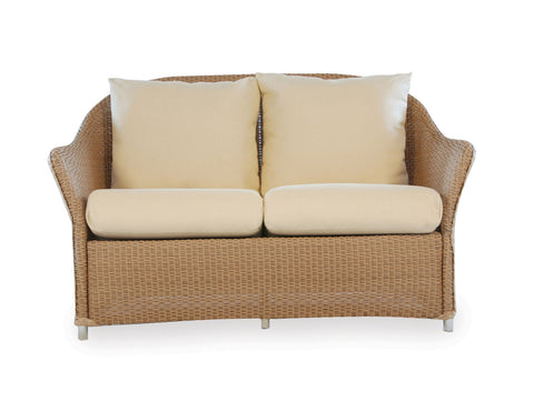 Lloyd Flanders Weekend Retreat Love Seat For Sale Rattan