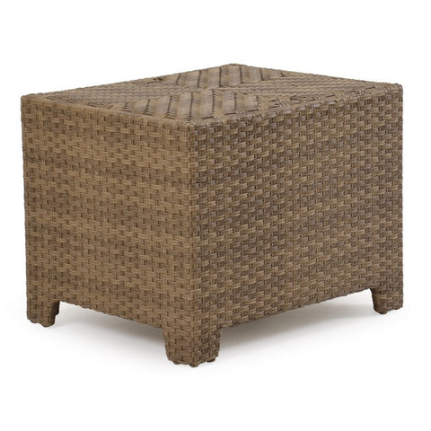Watermark Living Watermark Living Northport Outdoor Storage End Table Oyster Grey 6320 End Table - Rattan Imports