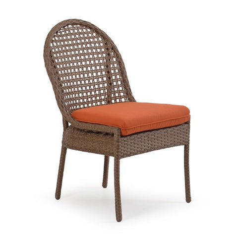 Palm Springs Rattan - Dining Side Chair Driftwood 6711 - Driftwood -  - 1