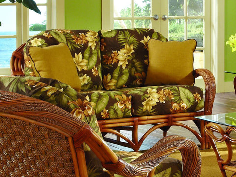 Spice Islands - CANEEL BAY SOFA CINNAMON -  -