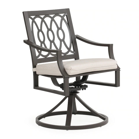 Watermark Living Camden Swivel Dining Arm Chair  SKU 741831