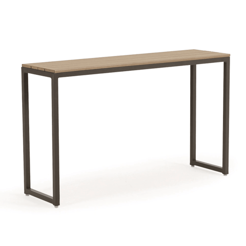 "Watermark Living Manchester 12"" x 44"" Console Table with PoliSoul® Top"