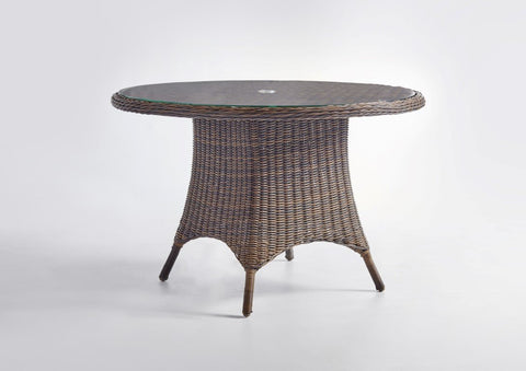 South Sea Rattan South Sea Rattan Del Ray 48 Inch Round Dining Table Dining Table - Rattan Imports