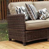 Del Ray Outdoor Sofa by South Sea Rattan