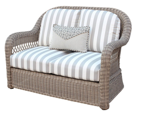 South Sea Rattan South Sea Rattan Arcadia Loveseat Loveseat - Rattan Imports