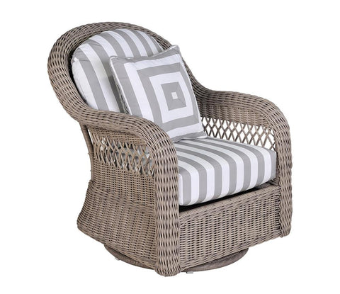 South Sea Rattan South Sea Rattan Arcadia Swivel Glider Swivel Glider Chair - Rattan Imports