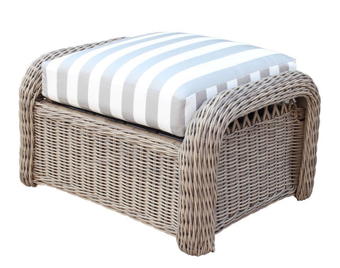 Arcadia Ottoman by South Sea Rattan-South Sea Rattan-Rattan Imports