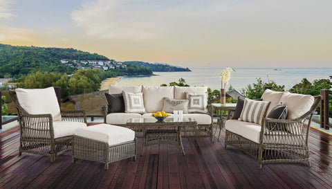 West Bay Sofa by South Sea Rattan-South Sea Rattan-Rattan Imports