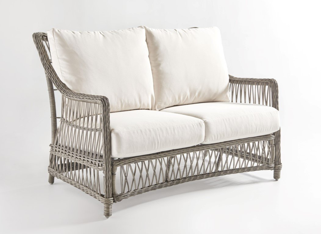 South Sea Rattan South Sea Rattan West Bay Loveseat Loveseat - Rattan Imports