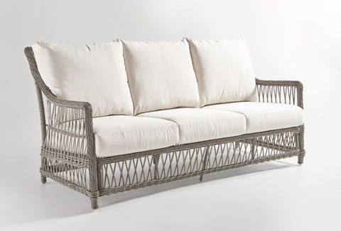 South Sea Rattan South Sea Rattan West Bay Sofa Sofa - Rattan Imports