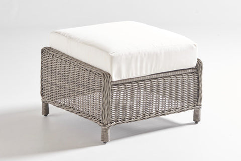 West Bay Ottoman by South Sea Rattan-South Sea Rattan-Rattan Imports