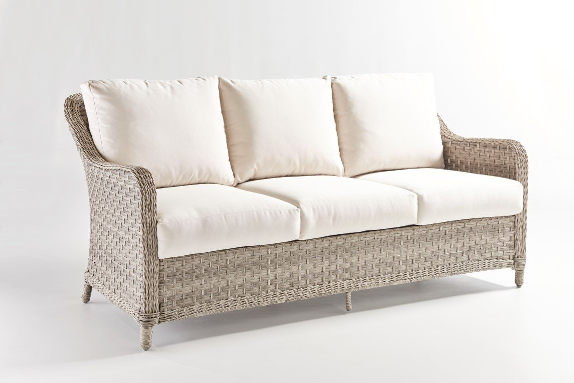 South Sea Rattan South Sea Rattan Mayfair Sofa Sofa - Rattan Imports