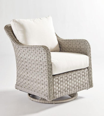 South Sea Rattan South Sea Rattan Mayfair Swivel Glider Swivel Glider Chair - Rattan Imports